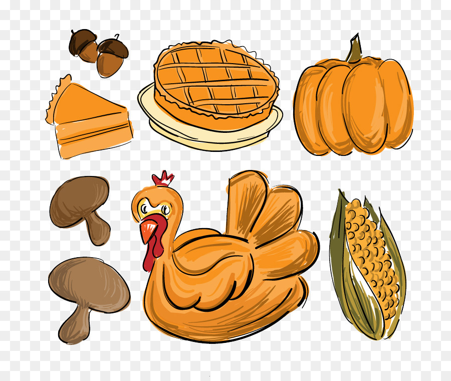 Descarga gratuita de Cena De Acción De Gracias, Día De Acción De Gracias, Dibujo Imágen de Png