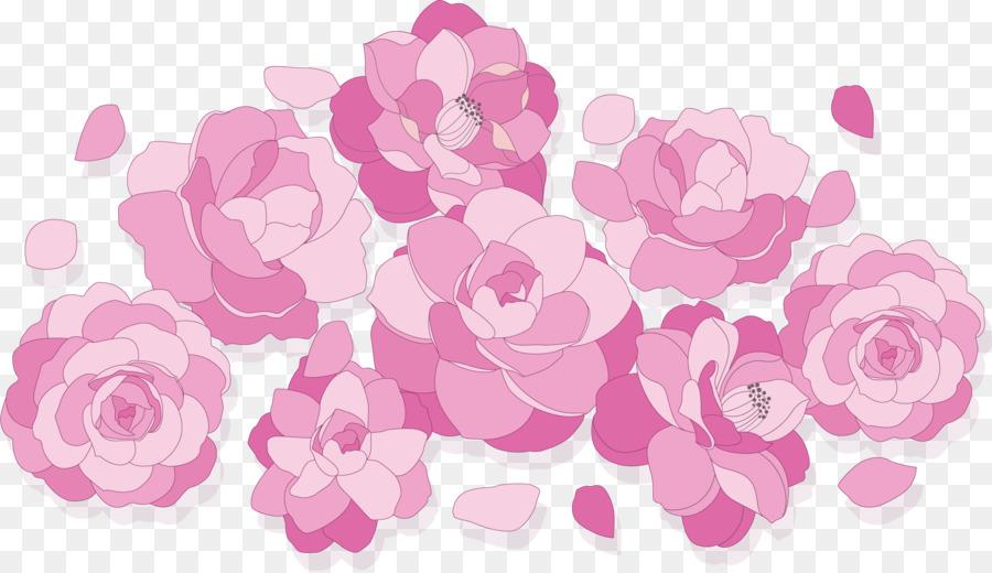 Descarga gratuita de Las Rosas De Jardín, Rosa, Diseño Floral imágenes PNG