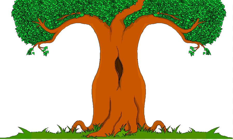 Descarga gratuita de De Dibujos Animados, árbol, Dibujo Imágen de Png