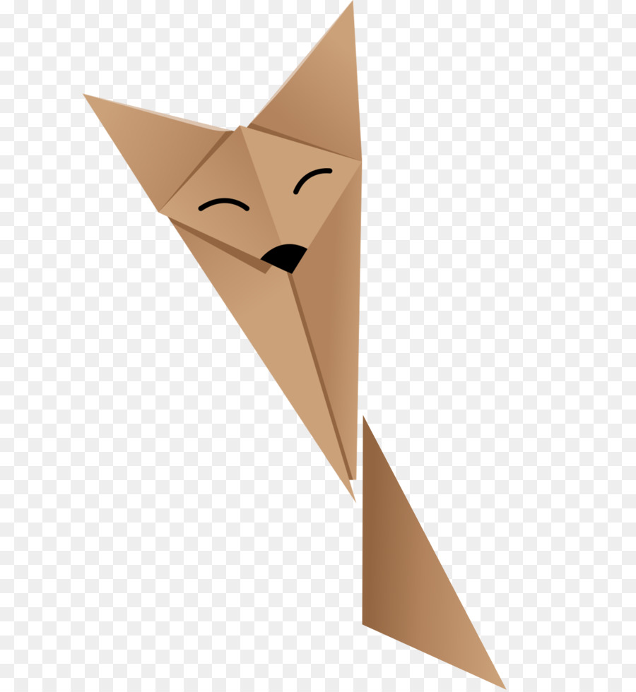 Descarga gratuita de Papel, Origami, Fox imágenes PNG