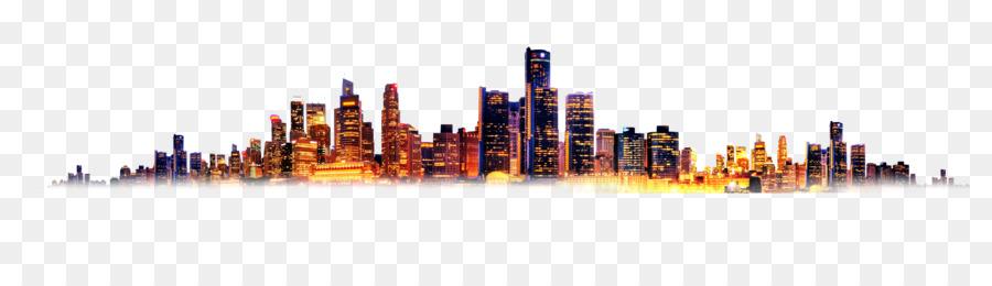 Descarga gratuita de Ciudad, Diseñador, Puesta De Sol imágenes PNG