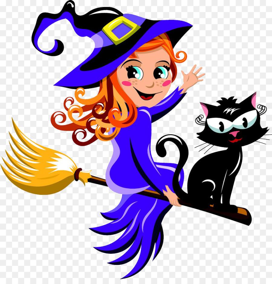 Descarga gratuita de Gato, La Brujería, Gato Negro Imágen de Png
