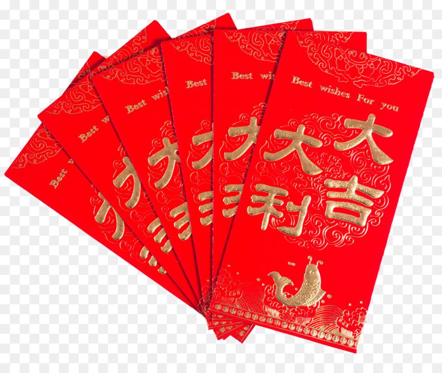 Descarga gratuita de China, Sobre Rojo, Año Nuevo Chino Imágen de Png