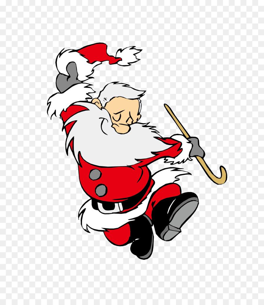 Descarga gratuita de Santa Claus, La Danza, La Navidad Imágen de Png