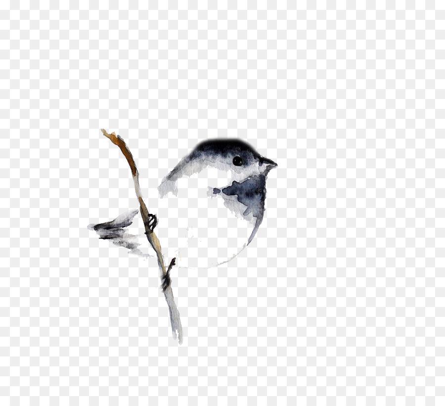 Descarga gratuita de Pájaro, Pintura A La Acuarela, Pintura imágenes PNG