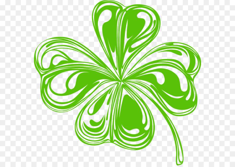 Descarga gratuita de Irlanda, Shamrock, Trébol De Cuatro Hojas Imágen de Png