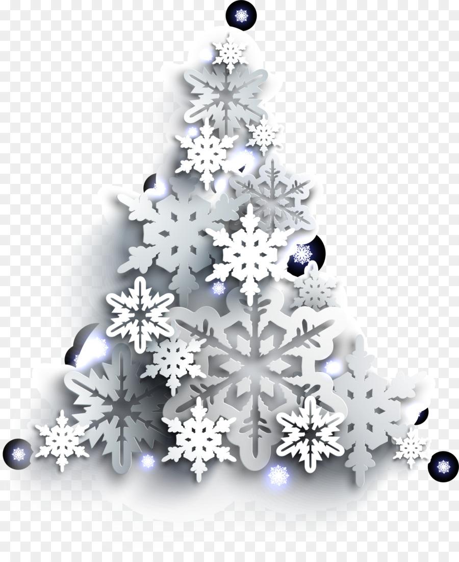 Descarga gratuita de árbol De Navidad, Copo De Nieve, La Navidad Imágen de Png