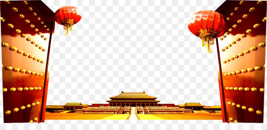 Descarga gratuita de De La Plaza De Tiananmen, La Ciudad Prohibida, Día Nacional De La República Popular De China Imágen de Png