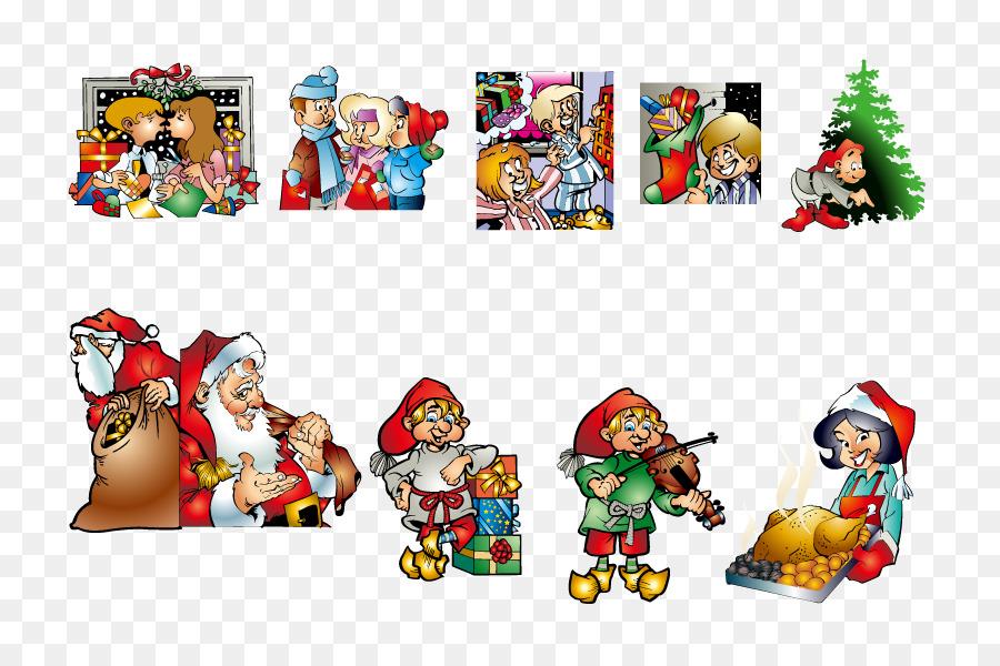 Descarga gratuita de Santa Claus, La Navidad, Vecteur Imágen de Png