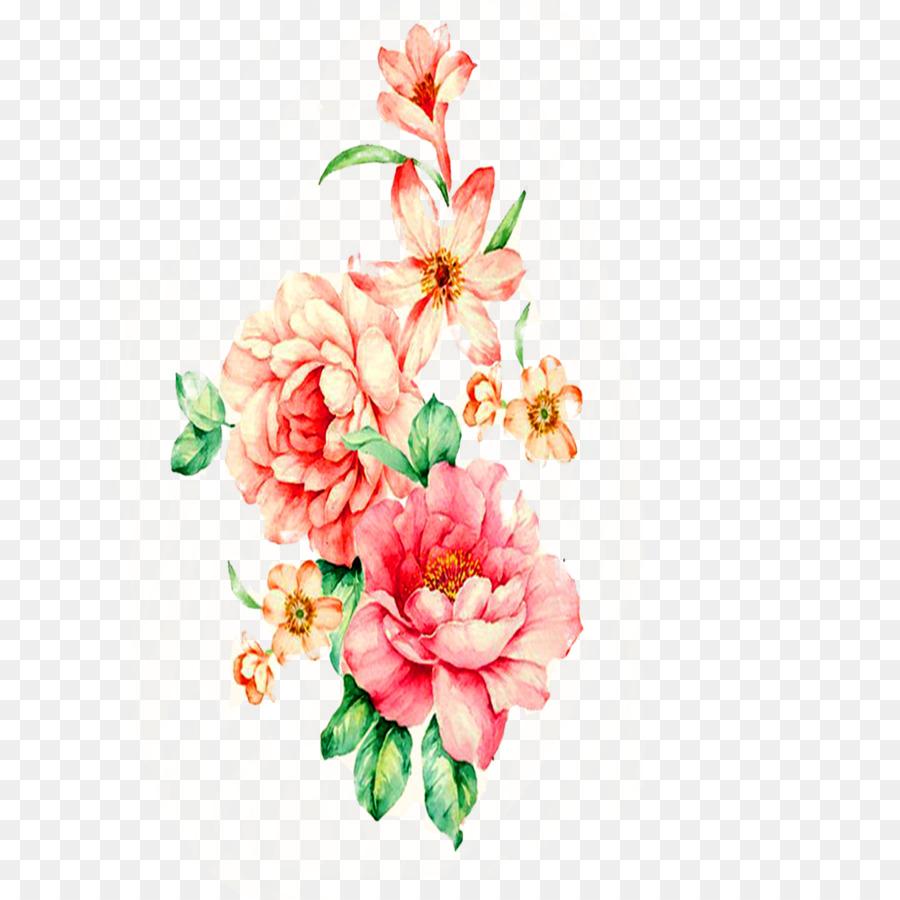 Descarga gratuita de Diseño Floral, Pintura, Pintura A La Acuarela Imágen de Png