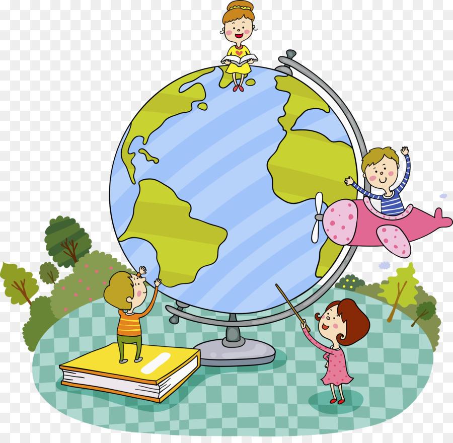 Descarga gratuita de La Tierra, Mundo, De Dibujos Animados Imágen de Png