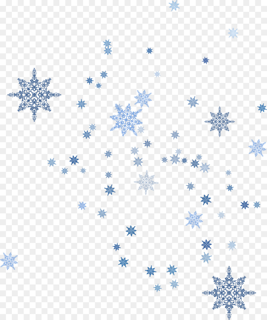 Descarga gratuita de Azul, Copo De Nieve, La Nieve Imágen de Png