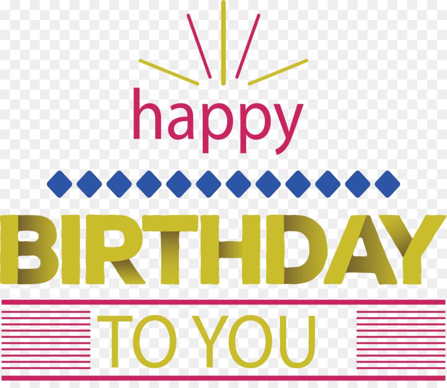 Descarga gratuita de Feliz Cumpleaños A Ti, Cumpleaños, Amarillo Imágen de Png