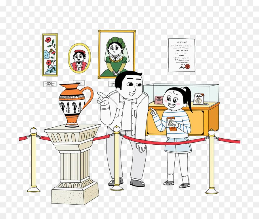 Descarga gratuita de Museo, Niño, Padre Imágen de Png