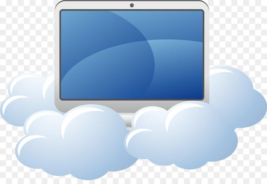 Descarga gratuita de Monitor De La Computadora, Azul, Cielo Imágen de Png