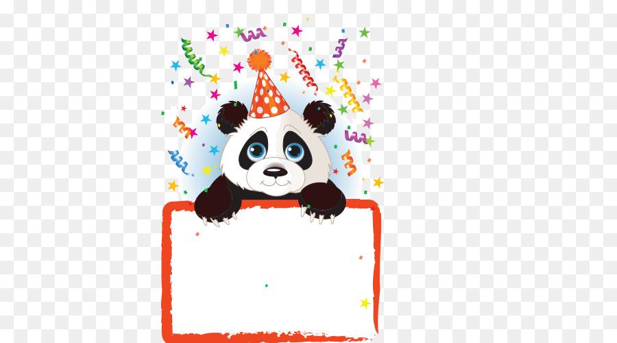 Descarga gratuita de El Panda Gigante, Invitación De La Boda, Cumpleaños Imágen de Png
