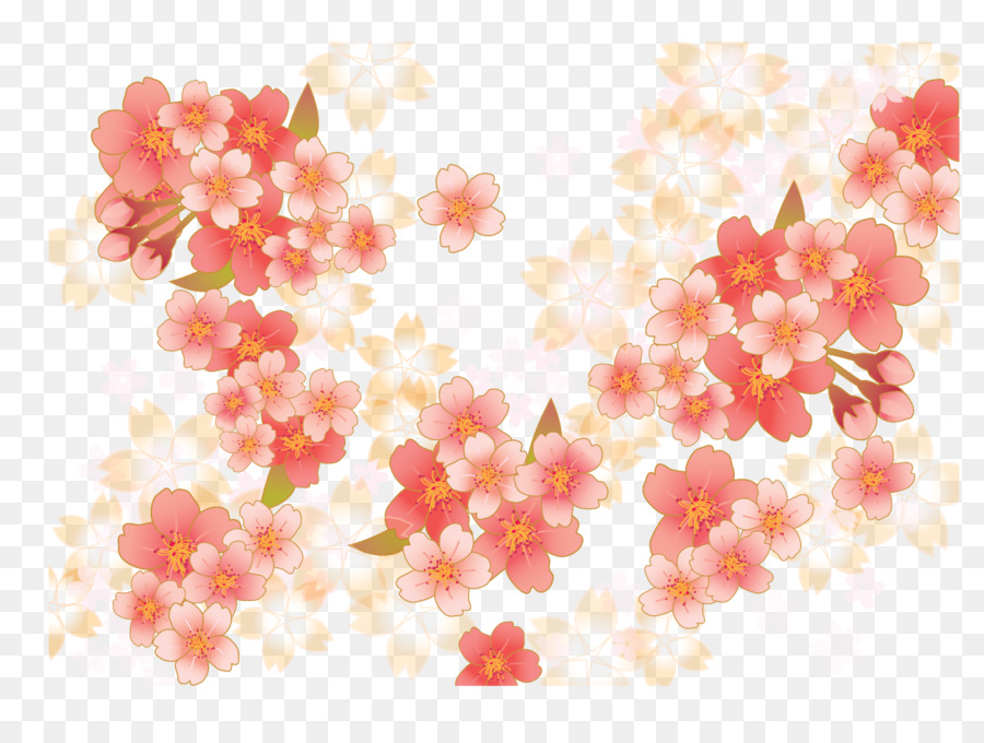 Descarga gratuita de De Los Cerezos En Flor, Rosa, Flor imágenes PNG