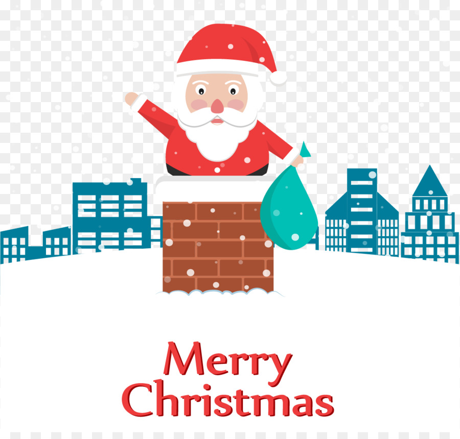 Descarga gratuita de Santa Claus, Chimenea, La Navidad Imágen de Png