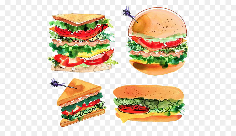 Descarga gratuita de Hamburguesa Con Queso, Sándwich De Pollo, Bacon imágenes PNG