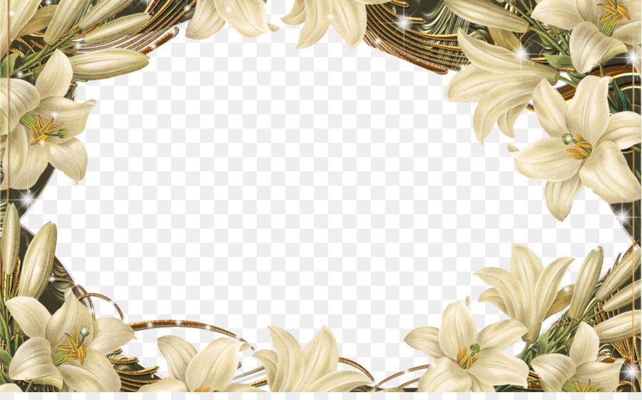 Descarga gratuita de Flor, Diseño Floral, Marco De Imagen imágenes PNG