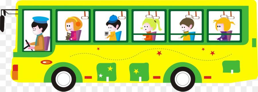 Descarga gratuita de Autobús, Coche, De Dibujos Animados Imágen de Png