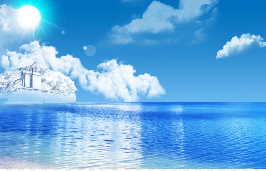 Descarga gratuita de Mar, Cielo, La Nube Imágen de Png