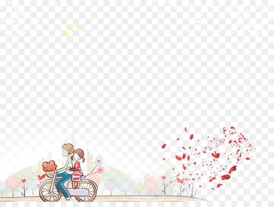 Descarga gratuita de De Dibujos Animados, Ciclismo, Otro Significativo imágenes PNG
