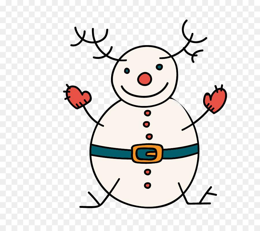 Descarga gratuita de Reno, Muñeco De Nieve, La Navidad imágenes PNG