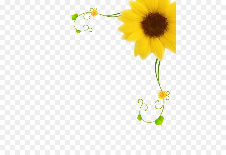 Descarga gratuita de Común De Girasol, Flor, Motivo Imágen de Png