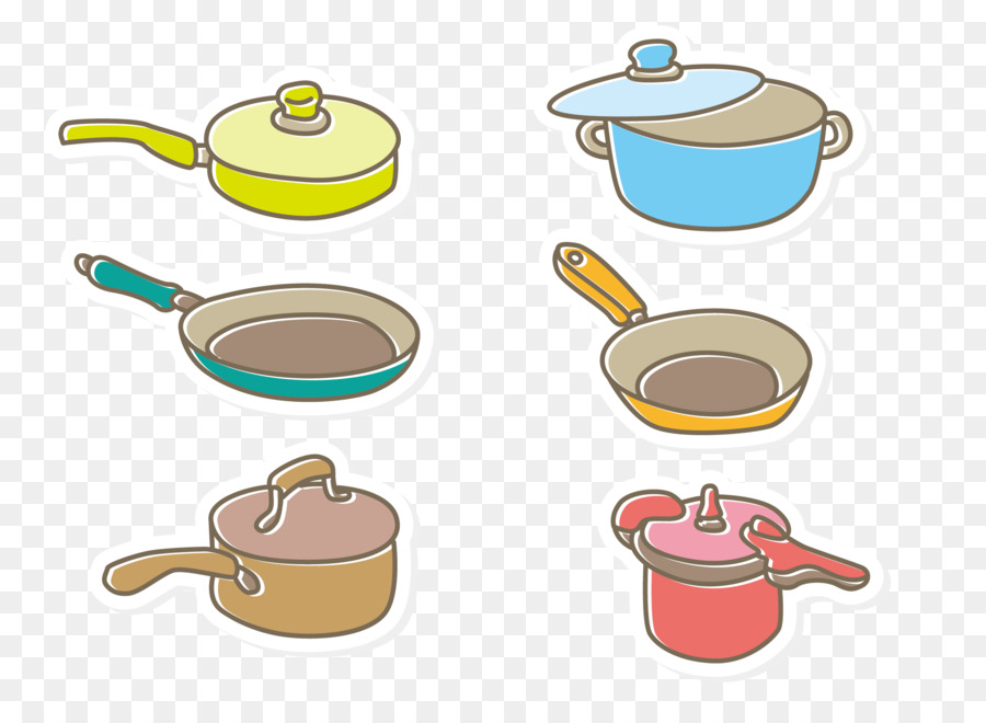 Utensilios De Cocina Y Utensilios Para Hornear De Dibujos