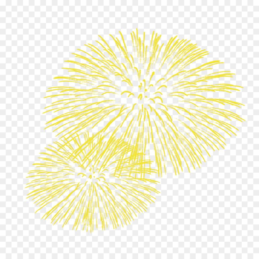 Descarga gratuita de La Luz, Amarillo, Fuegos Artificiales imágenes PNG