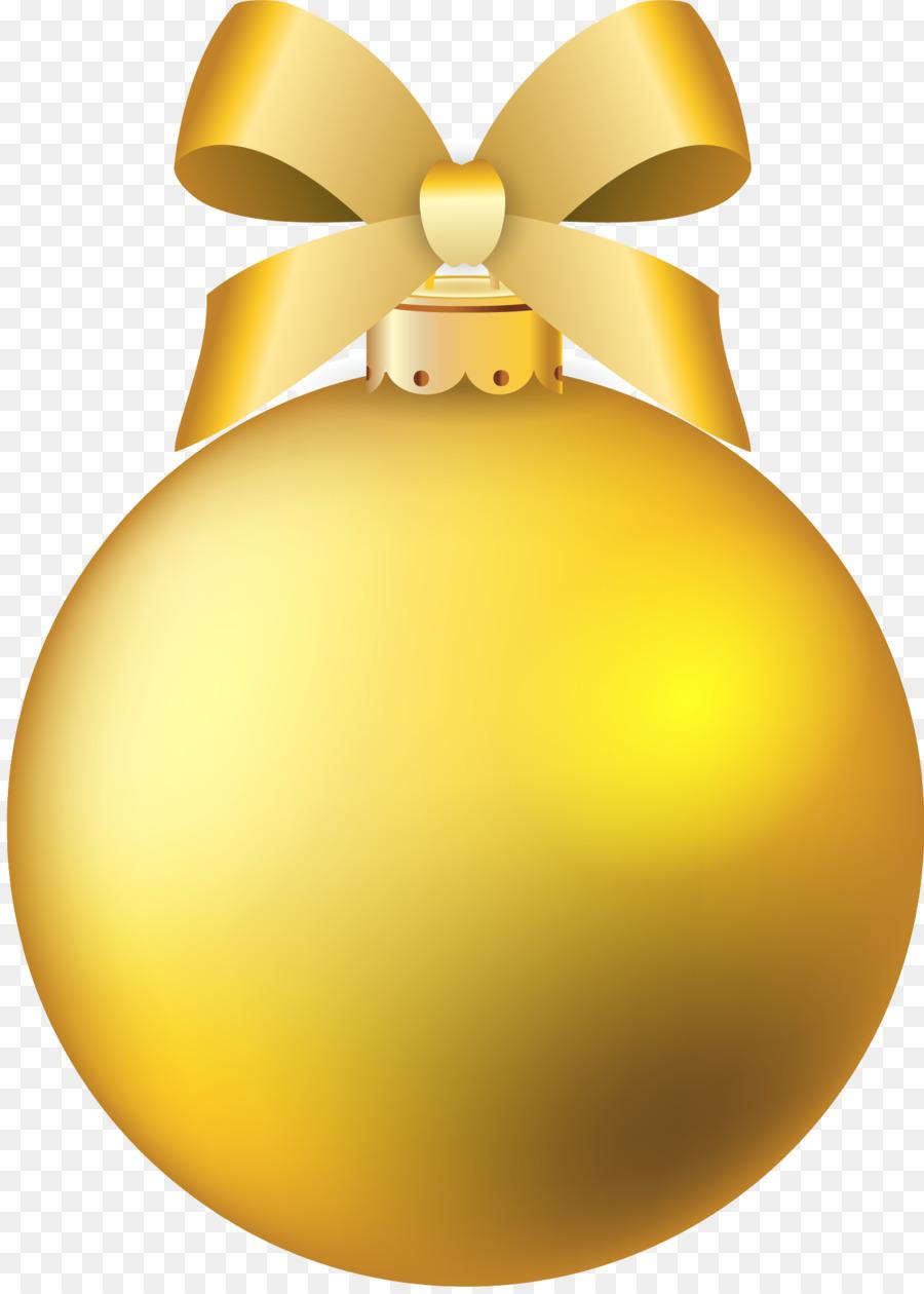 Descarga gratuita de Adorno De Navidad, La Navidad, Oro Imágen de Png