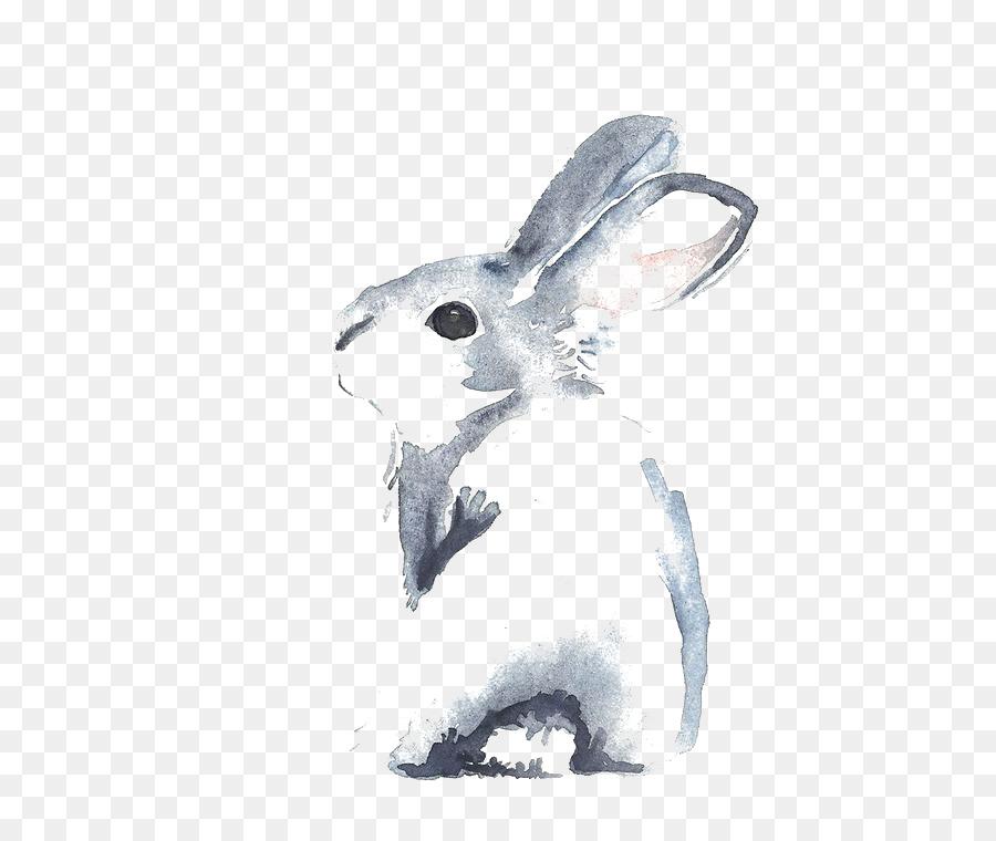 Descarga gratuita de Canela Conejo, Conejo, Acuarela De Flores imágenes PNG
