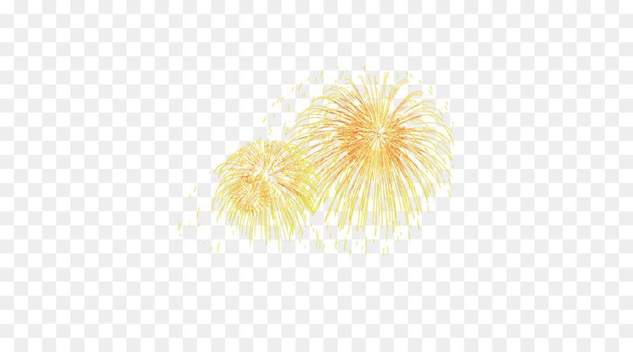 Descarga gratuita de Amarillo, Fuegos Artificiales, Descargar imágenes PNG