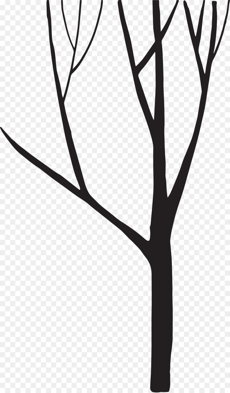 Descarga gratuita de En Blanco Y Negro, Silueta, árbol imágenes PNG