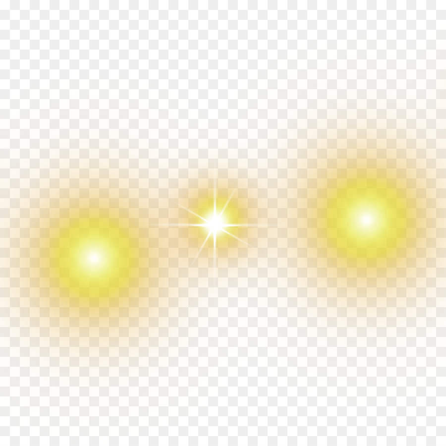 Luz amarilla png