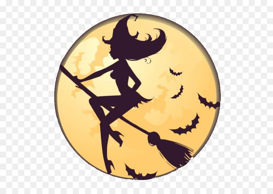 Descarga gratuita de La Brujería, Silueta, La Magia Imágen de Png