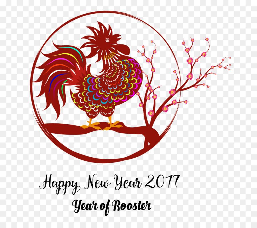 Descarga gratuita de Año Nuevo Chino, Gallo, El Día De Año Nuevo imágenes PNG