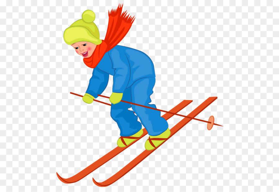 Descarga gratuita de Esquí, De Dibujos Animados, Niño imágenes PNG