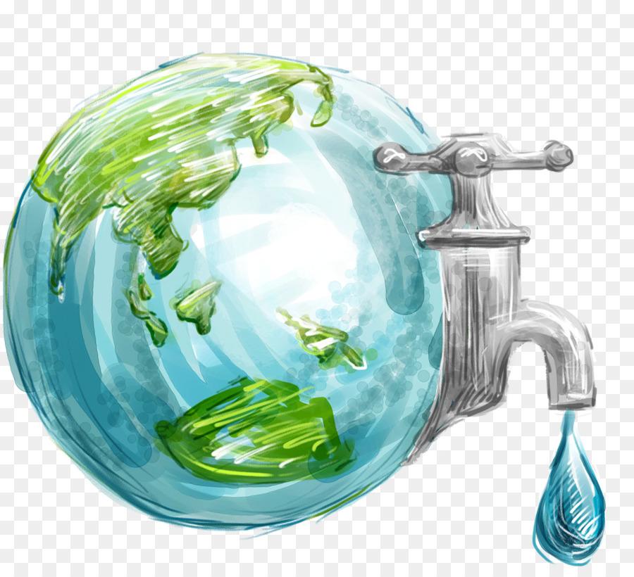 Descarga gratuita de La Tierra, Día Mundial Del Agua, La Conservación Del Agua imágenes PNG