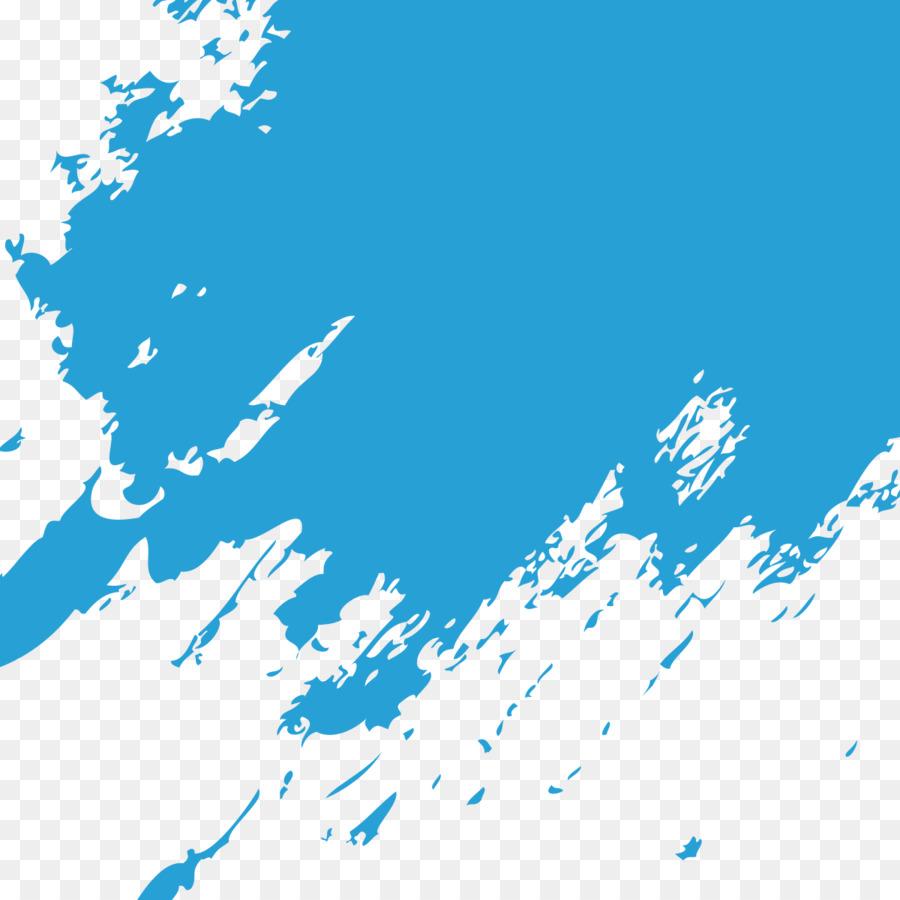 Descarga gratuita de Azul, Pintura, Pincel imágenes PNG