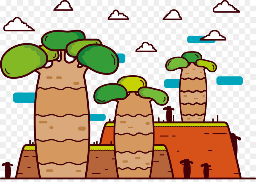 Descarga gratuita de árbol, Euclídea Del Vector, Adobe Illustrator Imágen de Png