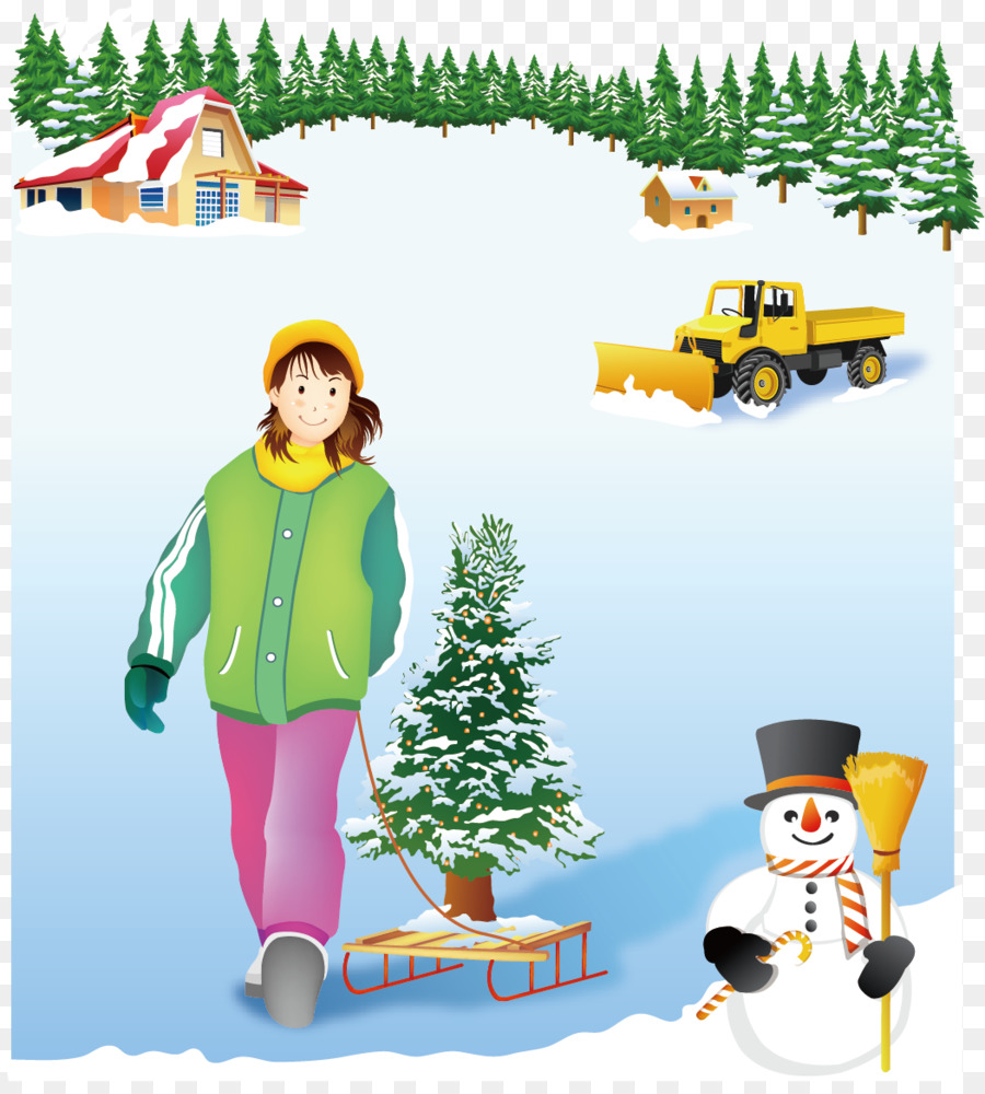 Descarga gratuita de Esquí, Invierno, Euclídea Del Vector imágenes PNG