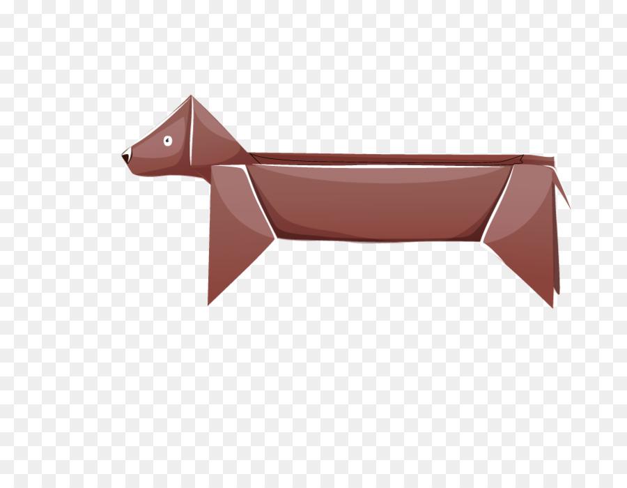 Descarga gratuita de Perro, Origami, Papel imágenes PNG