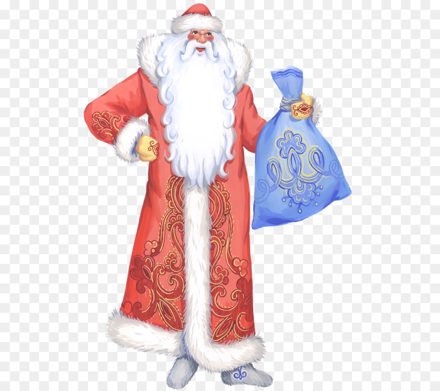 Descarga gratuita de Ded Moroz, Snegurochka, Santa Claus Imágen de Png