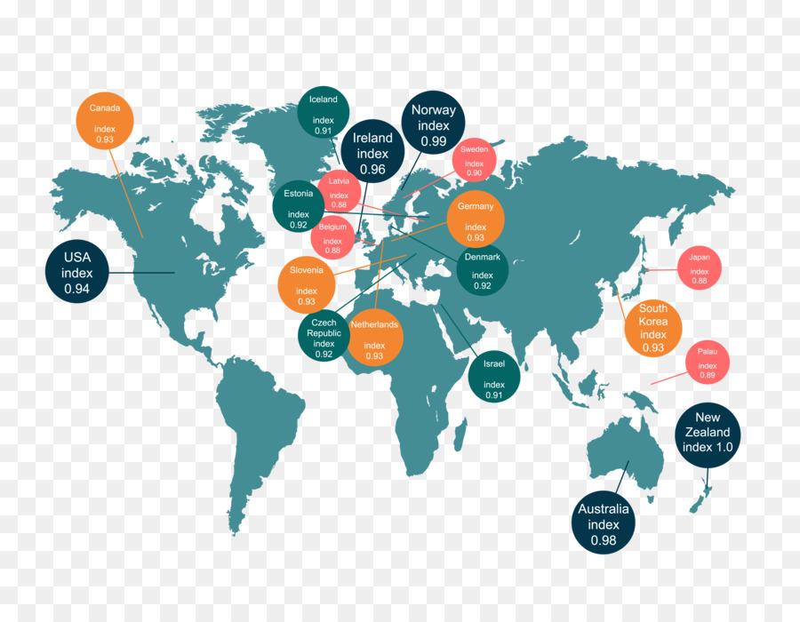 Descarga gratuita de Mundo, Mapa Del Mundo, La Calcomanía De Pared Imágen de Png