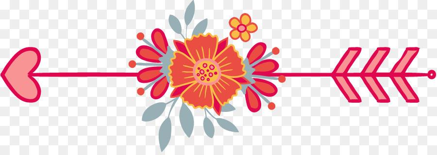Descarga gratuita de Flecha, Flor, Euclídea Del Vector imágenes PNG