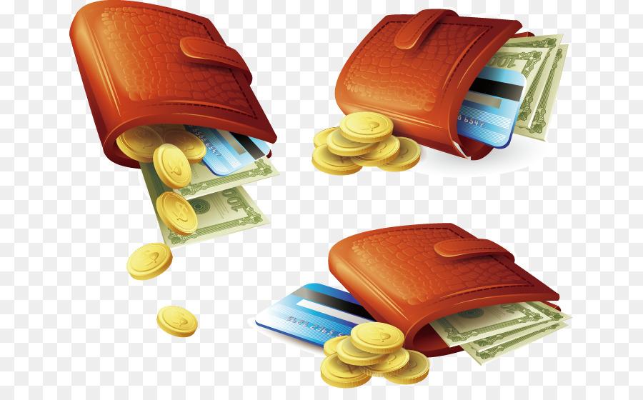 Descarga gratuita de Moneda, Dinero, Cartera imágenes PNG
