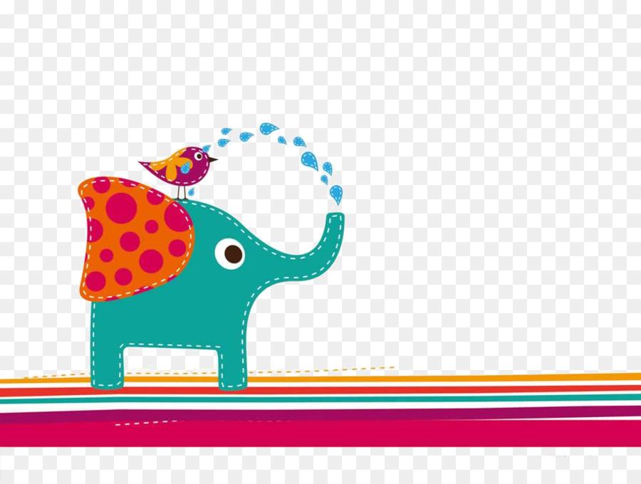 Descarga gratuita de Elefante, Illustrator, De Dibujos Animados Imágen de Png