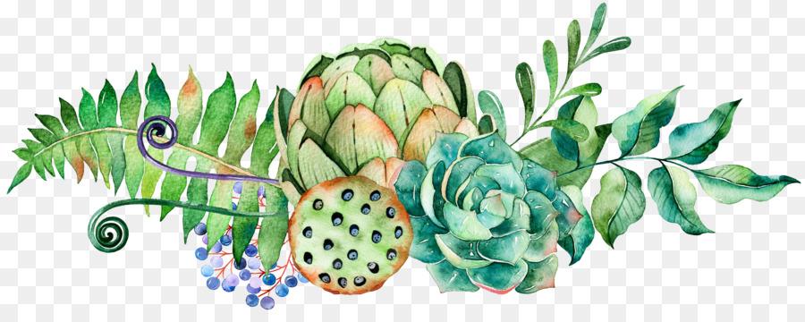 Descarga gratuita de Pintura A La Acuarela, Planta Suculenta, Cactaceae imágenes PNG